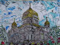Cathedral of the Sign, Kursk, Isayev Nikolai : Children's Art Festival Our Kursk: CHILDREN DRAW THE CHURCH